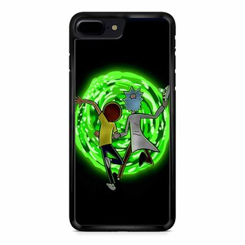 Rick And Morty Portal 2 iPhone 8 Plus Case