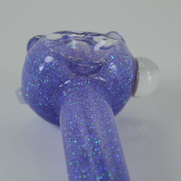 purple glitter pipe