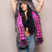 Limited Edition Charcoal Fox SpiritHood