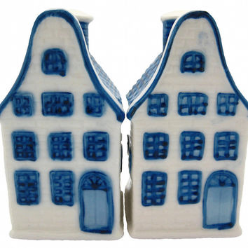 Collectible Salt and Pepper Shakers: Canal Houses