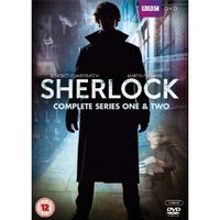 Sherlock - Series 1 and 2 Box Set [DVD]: Amazon.co.uk: Benedict Cumberbatch, Martin Freeman, Una Stubbs, Mark Gatiss, Rupert Graves, Stephen Moffat: Film & TV