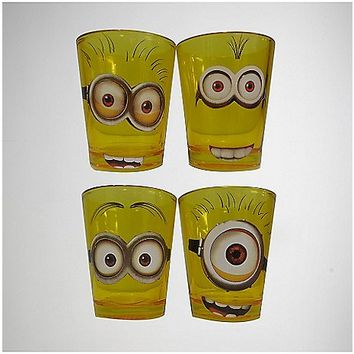 Despicable Me Minions Shot Glass 4-Pack - Spencer's
