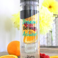 oGorgeous Gym Boutique - Dream Believe Achieve Detox Water Bottle