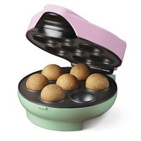 Nostalgia Electrics? JFD-100 Donut Holes Maker, Pink/Green, Nostalgia Products Group - Barnes & Noble