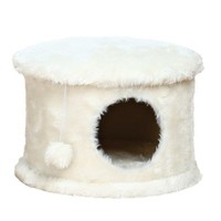 Trixie Pet Products Cozy Cat Cave in Cream