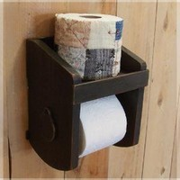 Primitive Toilet Paper Holder for the Bathroom / by Sawdusty