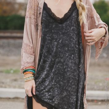 black layering lace slip dress - Three Bird Nest | Women's Boho Clothing & Cute Indie Accessories