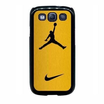 nike air jordan golden gold samsung galaxy s3 s4 s5 s6 edge cases