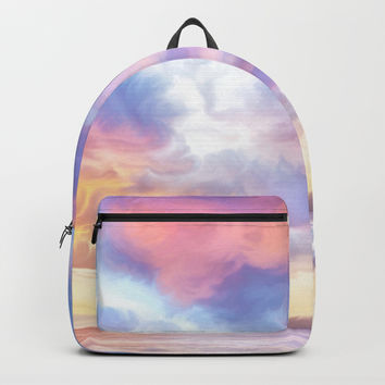Calm before a storm Backpack by exobiology