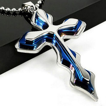 Unisex Men Cross Pendant | Tophatter