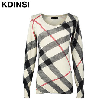 Long Warm Sweaters with Neck Women 2014 Hitz British Style Child Temperament Fashion Ladies Loose Sweater Knit Pullovers Jacket