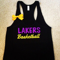 CUSTOMIZE YOUR Favorite Team - Lakers Basketball Tank