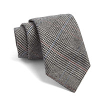 Fulton Glen Plaid Tie in Grey