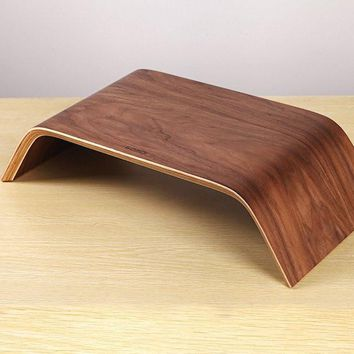 Wooden iMac Stand by Samdi