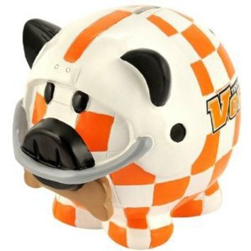 NCAA Tennessee Volunteers Resin Thematic Piggy Bank, Small