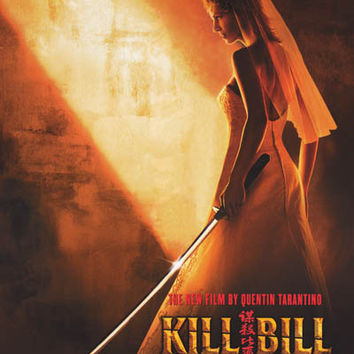 Kill Bill The Bride is Back 2004 Movie Poster 24x36