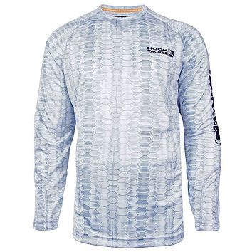 Men's Scales L/S UV Fishing Shirt