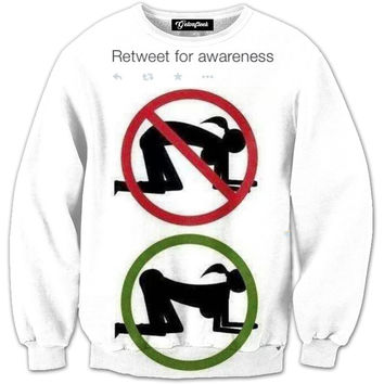 RT for Awareness Crewneck
