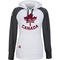 adidas Canada Olympic Ultimate Fleece Pullover Hoody Womens