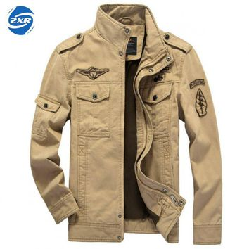 Outdoor Tactical Jacket Men Us Army Air Froce Field Jacket Autumn Waterproof Hoody Windbreaker Many Pocket Camo Military Jacket