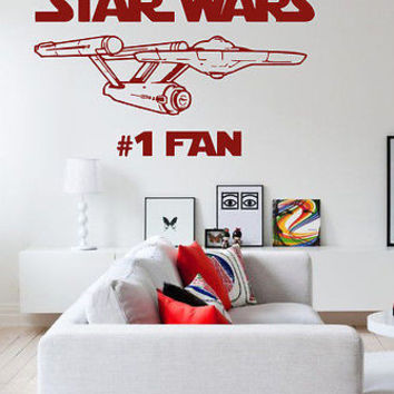 Star Wars Nursery Room Kids Bedroom sticker decal wall art decor 7386-2