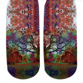 Trip Tree Ankle Socks