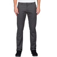Volcom Fricken Modern Stretch Chino Pants - Charcoal