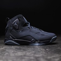 HCXX JORDAN - Men - True Flight - Obsidian/Ocean Fog