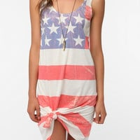 Urban Outfitters - BDG Knit Flag Print Tank Dress