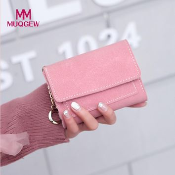 Wallet Women Vintage Fashion Small Wallet Leather Purse Female Money Bag Small Zipper Coin Pocket dropshipping cartera hombre
