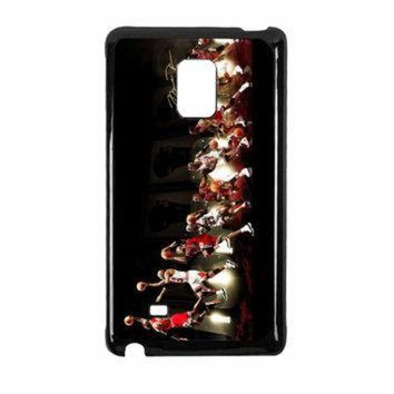 DCKL9 Michael Jordan NBA Chicago Bulls Dunk Samsung Galaxy Note Edge Case