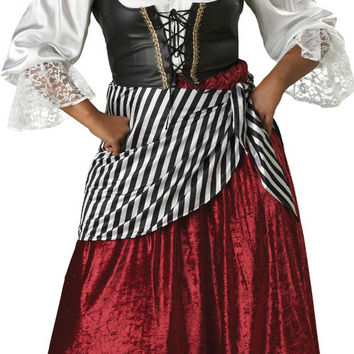 women's costume: pirate's wench | 3xl