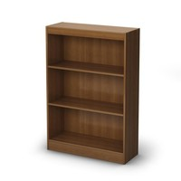 South Shore Axess Collection 3-Shelf Bookcase, Morgan Cherry