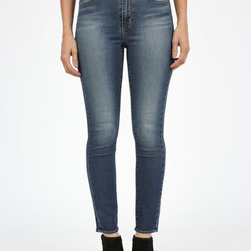 Heather High Rise Denim