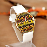 A 091210 Wavy character Tone Watch