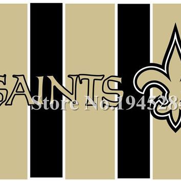 NFL New Orleans Saints Flag New 3x5ft 90x150cm Polyester Flag Banner 3004, free shipping