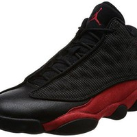 Air Jordan 13 Retro mens lifestyle fashion sneakers black/true red-white NEW 414571-00