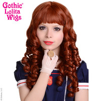 Gothic Lolita Wigs® <br> Ringlet Redux™ Collection - Auburn -00117