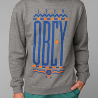 Urban Outfitters - OBEY Colors Crewneck Sweatshirt
