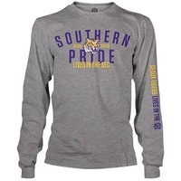 Weezabi LSU Tigers SEC on ESPN Long Sleeve Southern Pride T-Shirt