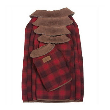 Pendleton Dog Coat — Red Ombre