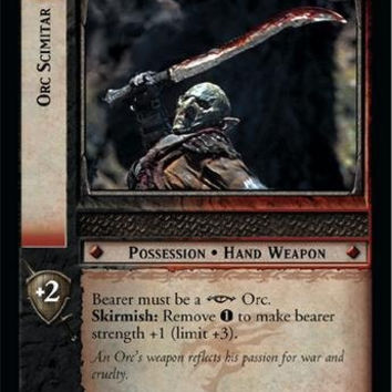 Lord of the Rings TCG - Orc Scimitar - Fellowship of the Ring