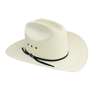 Rancher 10X straw cowboy hat from the Stetson® Classic Collection.