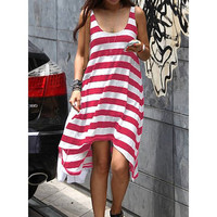 Sunshine and Candy Stripes Dress