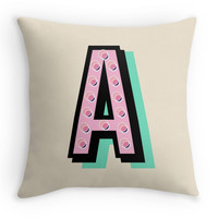 Pick Your Letter! - Decor Pillow