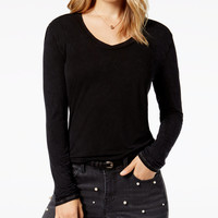 Project Social T V-Neck Top - Tops - Women - Macy's
