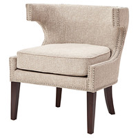 Permata Accent Chair, Ivory, Accent & Occasional Chairs