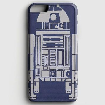 R2-D2 Area Rugs iPhone 8 Plus Case