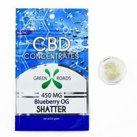 CBD Shatter Blueberry OG (0.5 grams)