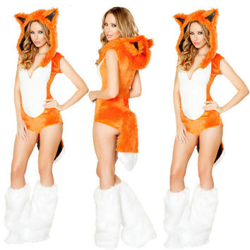 Fox Halloween Cosplay Uniform [9220884420]